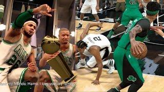 NBA 2k17 MyCAREER Playoffs - NBA Championship! Full Court Buzzer Beater + Ankle Breaker! NFG4 EP 109