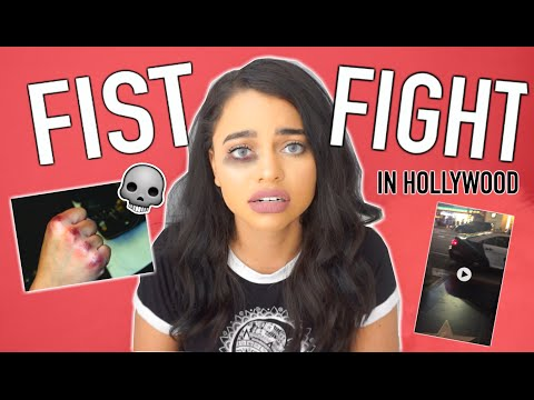 GETTING IN A FIST FIGHT IN HOLLYWOOD ! STORYTIME + CLIP
