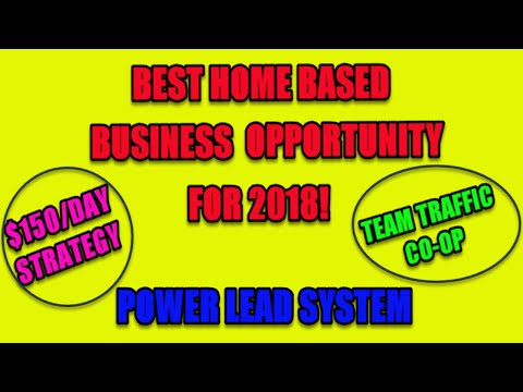 Power Lead System Best Home Based Business Opportunity For 2018