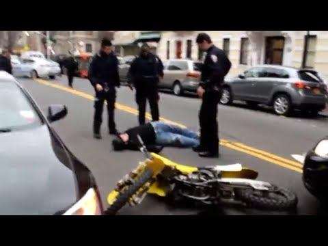 NYPD Officers Retaliate against Dirt Bike rider over Officers being Suspended over ATV incident