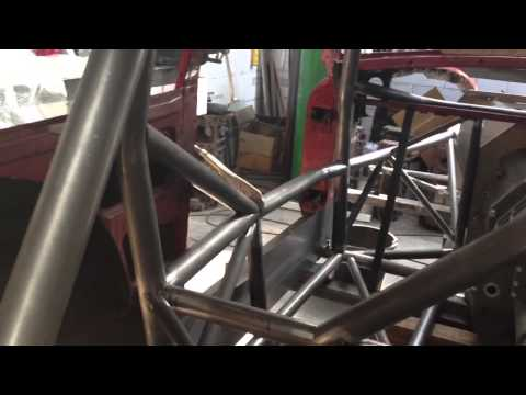 APS Motorsports MGB GT Race Car, Twin Turbo, Space frame Chassis Part 2
