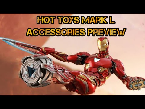 Hot Toys Ironman Mark L Accessory Pack Preview