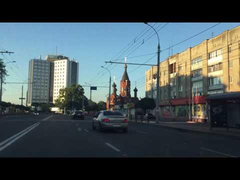 Путешествие в Брянск Гостиница Брянск Улицы Брянска