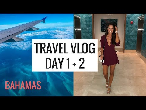 TRAVEL VLOG 1: Grand Hyatt Baha Mar  | Molly J Curley