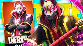 MY FIRST VICTORY WITH THE LEGENDARY SKIN DERIVES *TO THE MAXIMUM*! - FORTNITE FUNNY MOMENTS