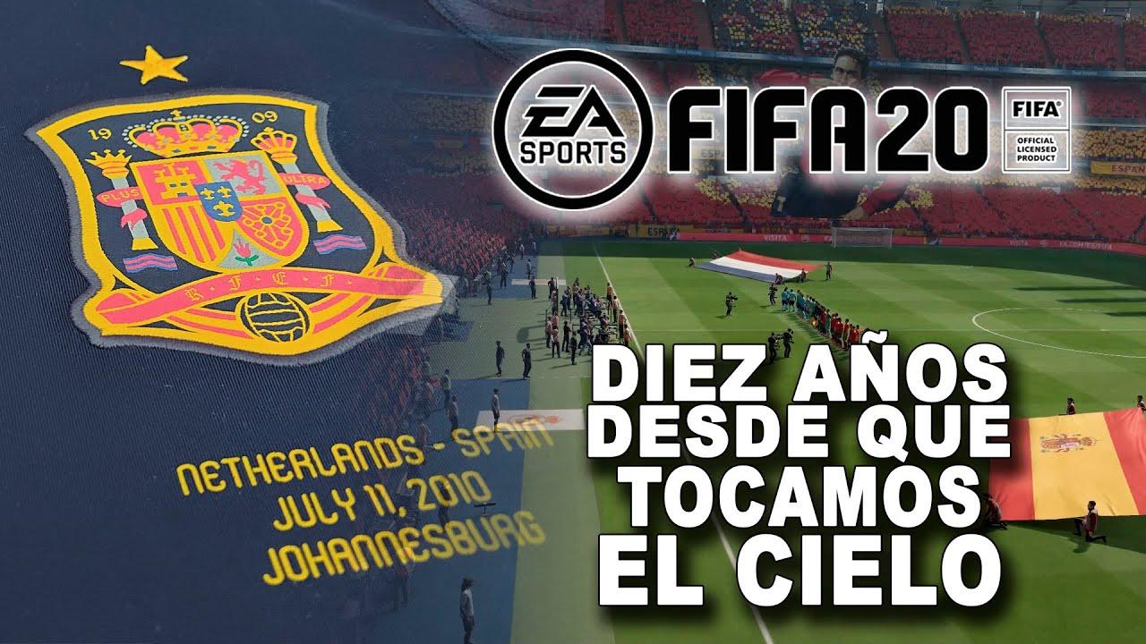 FIFA20 Diez años desde que tocamos el cielo VR_JUEGOS