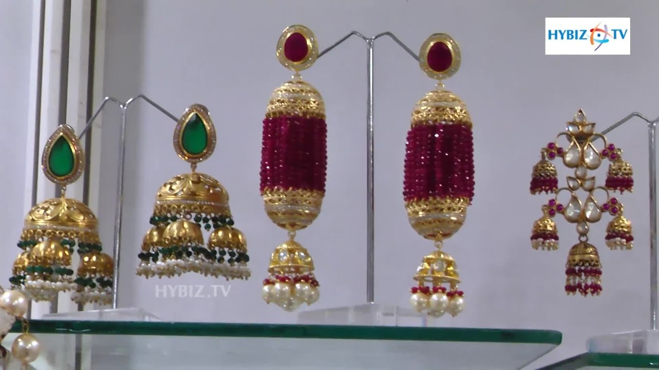 Latest Gold And Pearl Earring Designs  Hybiz