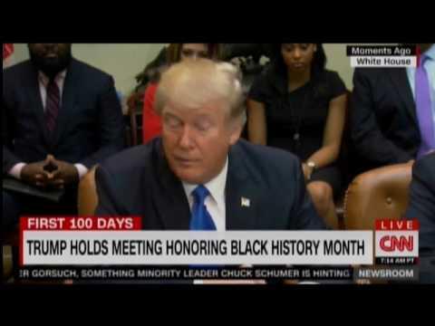 Trump: Frederick Douglass 'Has Done An Amazing Job'