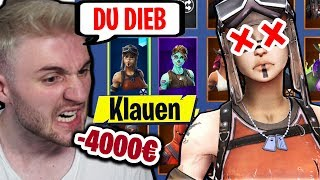He KLAUT my RENEGADE RAIDER 4000€ OG ACCOUNT in FORTNITE