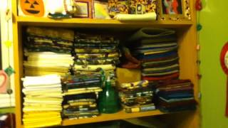 Janet Wright's sewing room tour Woodstock Quilt guild
