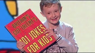 SAVAGE Little Comedian Ned Is Back! Watch He Burns Them All | Semi Final 3 | Britain's Got Talent 20