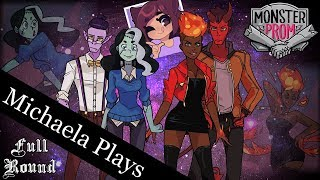 『Michaela Plays』Monster Prom w/ Jess(Aphmau)