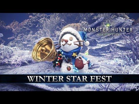 Monster Hunter: World - Winter Star Fest thumbnail
