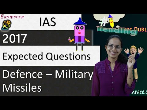 Expected Questions on Defence: UPSC IAS Prelims & Mains 2017