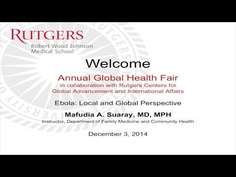 Global Health 2014: Ebola Local & Global Perspective_Mafudia A Suaray, MD, MPH