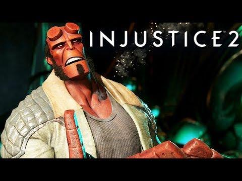 Injustice 2 Gameplay German Multiverse Mode - Hellboy Story