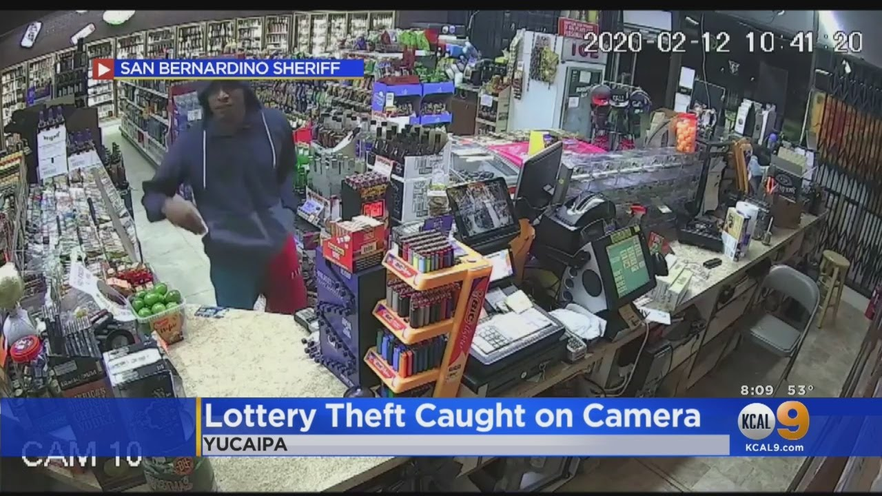 Man Steals $1K Worth Of Sratchers From Yucaipa Liquor Store