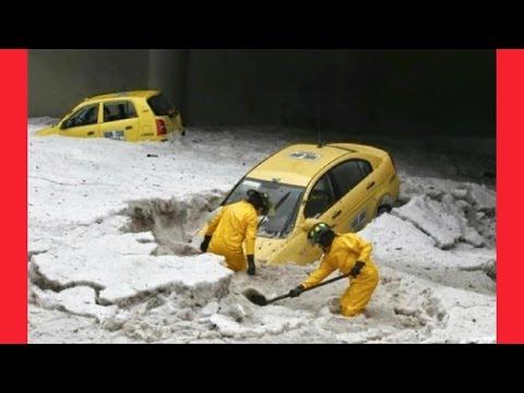 MASSIVE HAIL STORM HITS CHINA | END TIMES 2017