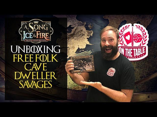 Unboxing the Free Folk Cave Dweller Savages for ASOIAF TMG