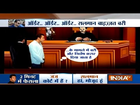 Haqikat Kya Hai: Salman Khan Cleared In Illegal Arms Case