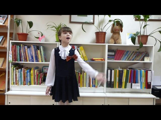 Изображение предпросмотра прочтения – АлександраТруфанова читает произведение «Я спою тебе, родной» Л.Шмидт