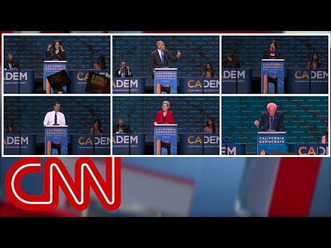 2020 Democrats challenge Joe Biden's message, electability