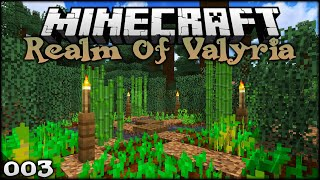 HOW TO CREATE A LOVELY MINECRAFT FARM | The Realm of Valyria (Minecraft Survival Building) Episode 3