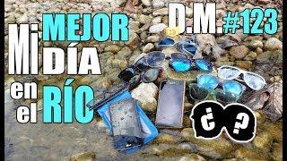 Encuentro TRES TELÉFONOS y algo MISTERIOSO buscando TESOROS en el río (1/2) - Detección Metálica 123