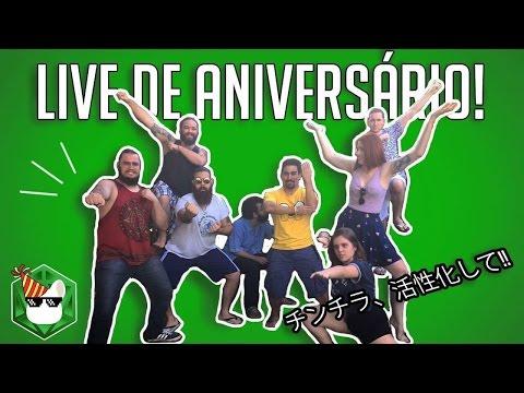 Live de Aniversário do Canal - 17/05/17