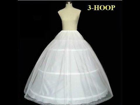 Юбка с кольцами для свадебного платья