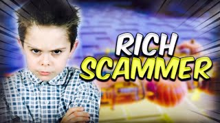 Rich Boy Loses Whole Inventory! *INSANE RAGE* (Scammer Gets Scammed) Fortnite Save The World