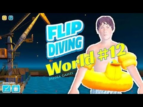 Flip Diving Holiday Diver The Crane Backflip Grab - by Miniclip | Gameplay (iOS/Android)