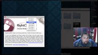 MixedByMike Tip - Wav to MP3 Converting (MAC)