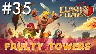 Clash of Clans - Single Player #35: Faulty Towers | Minimalist Army Playthrough