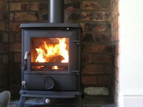 Aga Ludlow Multifuel Stove First Fire Youtube