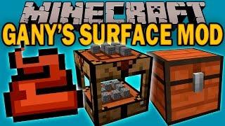 GANY'S SURFACE MOD - El mod que pewdiepie se instalo en su serie! - Minecraft mod 1.7.10 Review