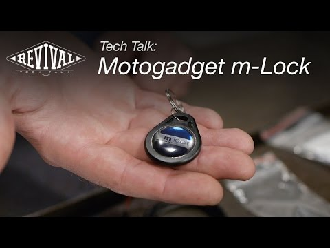 Motogadget m-Lock - Revival Cycles Tech Talk