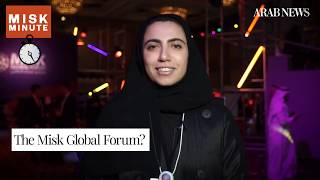Misk Global Forum: Attendees discuss future economy, sustainability and power of youth