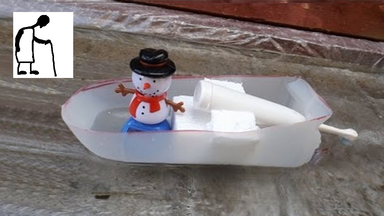 how to make a model boat stand