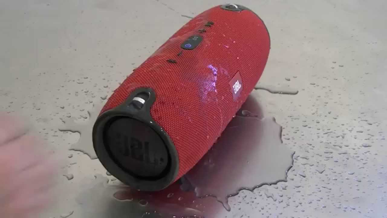 Jbl Xtreme Water Youtube Portable Speaker Red