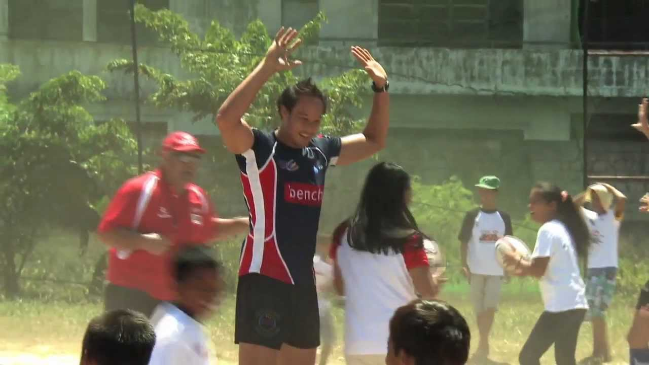 HSBC ARFU Coaching Tour plants rugby seeds in Manila mov
