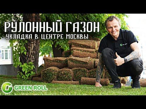 Как уложить рулонный газон. Укладка рулонного газона в Москве