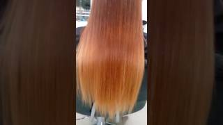Наращивание волос микро капсулами Челябинск Наталья Козицкая