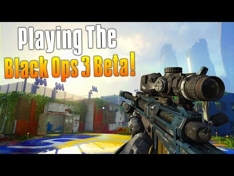 I'M PLAYING THE BLACK OPS 3 BETA!