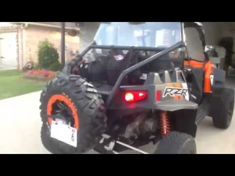 2014 Polaris Rzr Xp 900 Street Legal Youtube