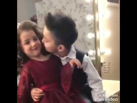 Very Cute Kiss Small Boy And Dolly Girl Youtube