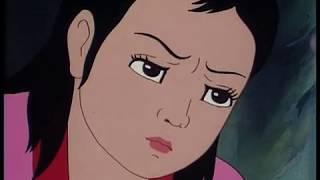 Dancing scene from  North Korean cartoon 'Young General'