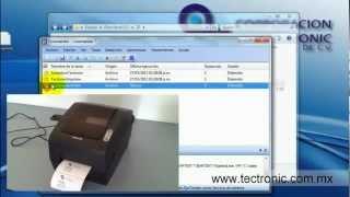 Automatizar la impresión de etiquetas con BarTender y Commander Ejemplo