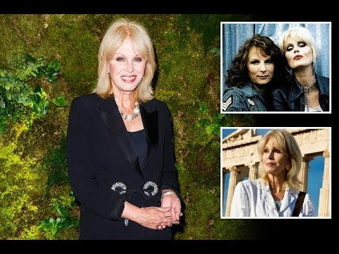 How old is Joanna Lumley, who's her husband Stephen Barlow and what films has the Absolutely