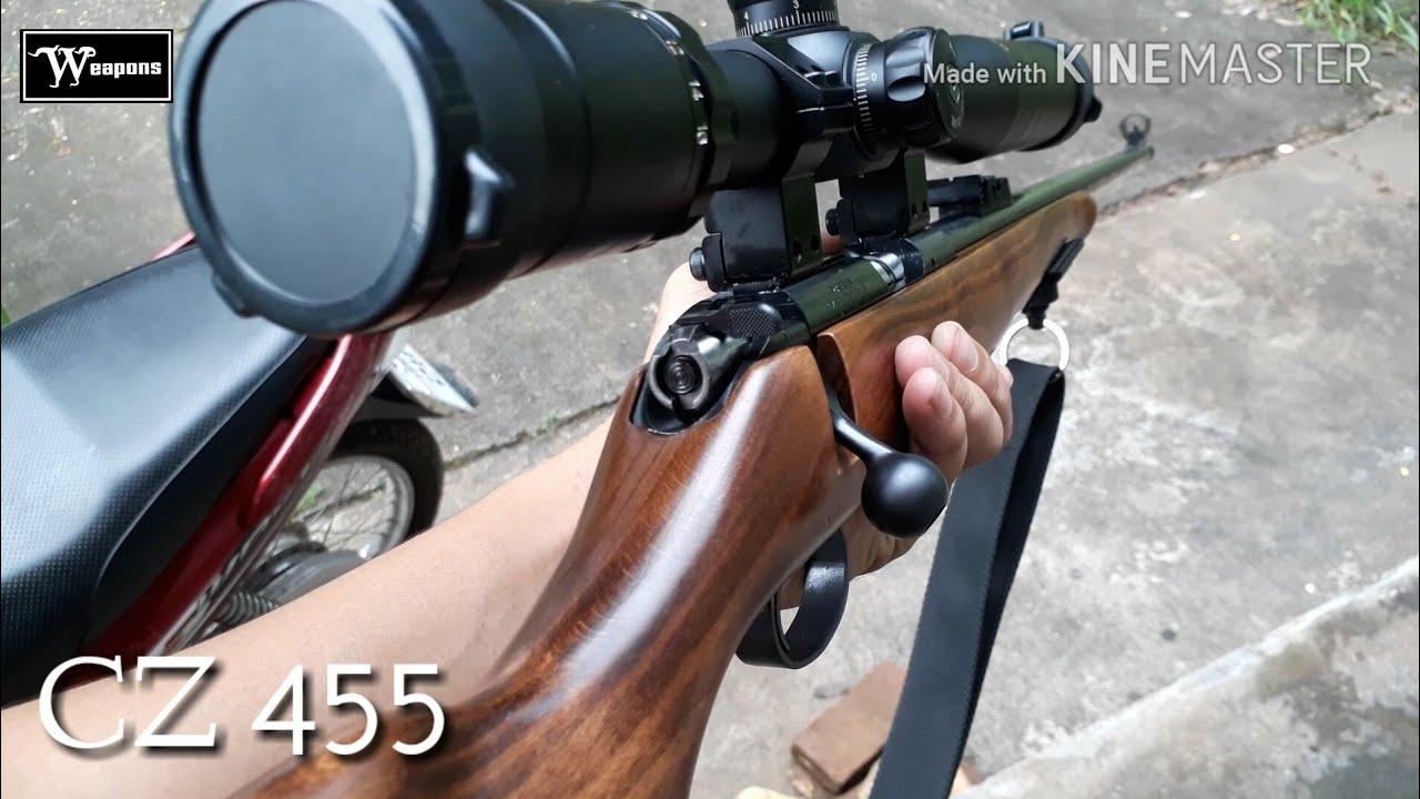 CZ 455 STANDARD  22LR Rimfire rifles